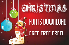 Christmas Fonts Download