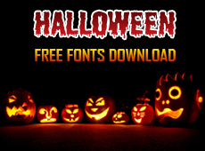 Halloween Fonts Free Download